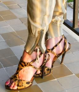 Chaussures-Léopard