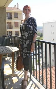 Robe asymétrique Alice San Diego