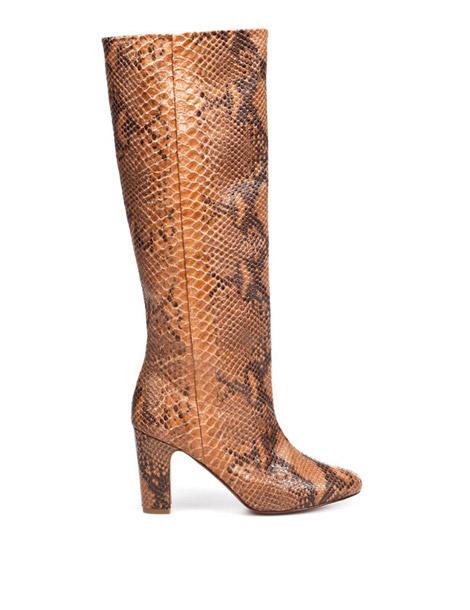 Les bottes python Zara.