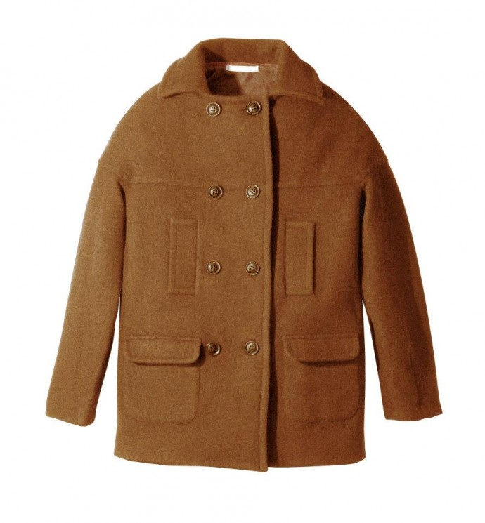 Manteau over size