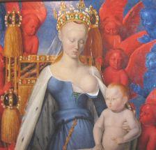 Agnès Sorel avec un enfant.