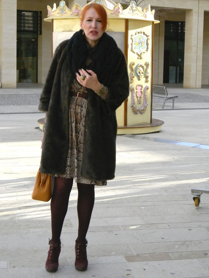 Manteau Doudou Mango.
