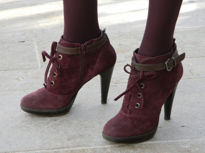 Boots bordeaux Eden Shoes