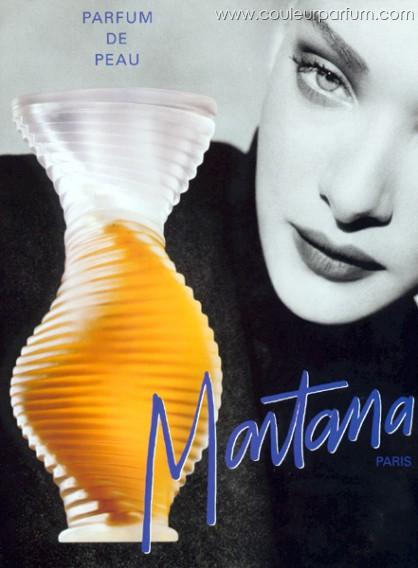 Parfum de Peau Montana.