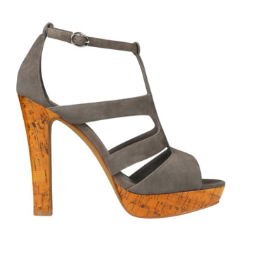 Sandales grises Minelli.