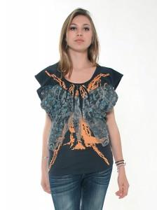 Tee-shirt papillon Ichi.