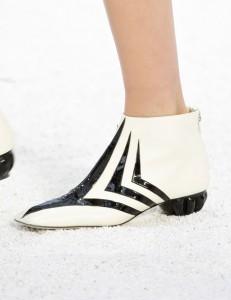 Les boots Chanel.