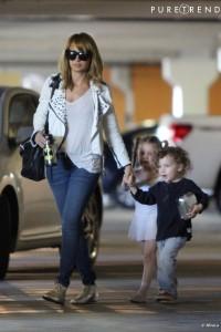 Nicole Richie et ses enfants.