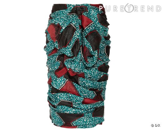 Une jupe droite
