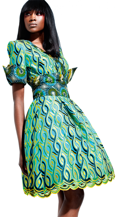 Une robe Vlisco