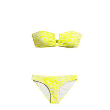 le bikini jaune la couleur de l'été.