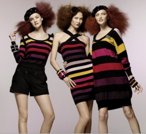 Les rayures pour H&M by Sonia Rykiel