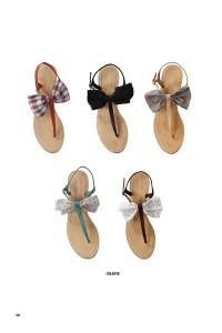 Des sandales à noeuds Petite Mendigote.