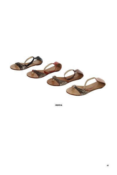 Des sandales glitter PM.