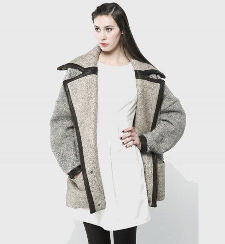 Manteau over size les Fées du Bengale.