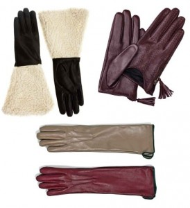 Les gants.