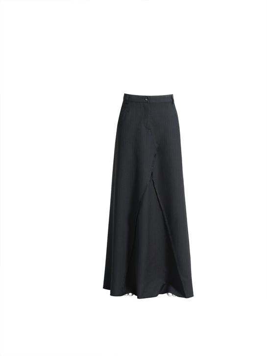 La jupe pantalon.