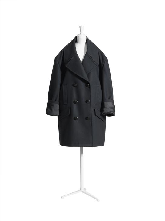 Le manteau over size.