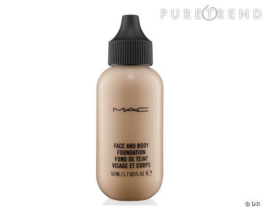 Le fond de teint visage et corps Mac par CR.