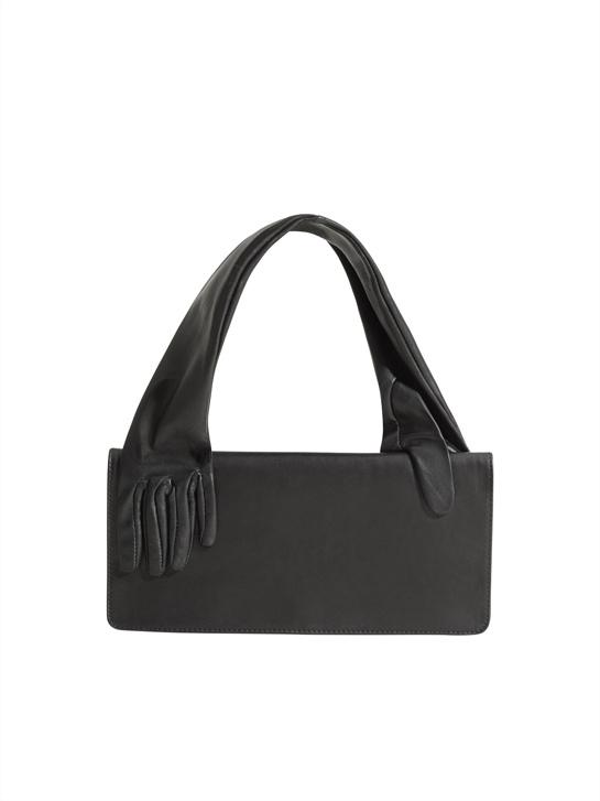 Le sac à mains gants.