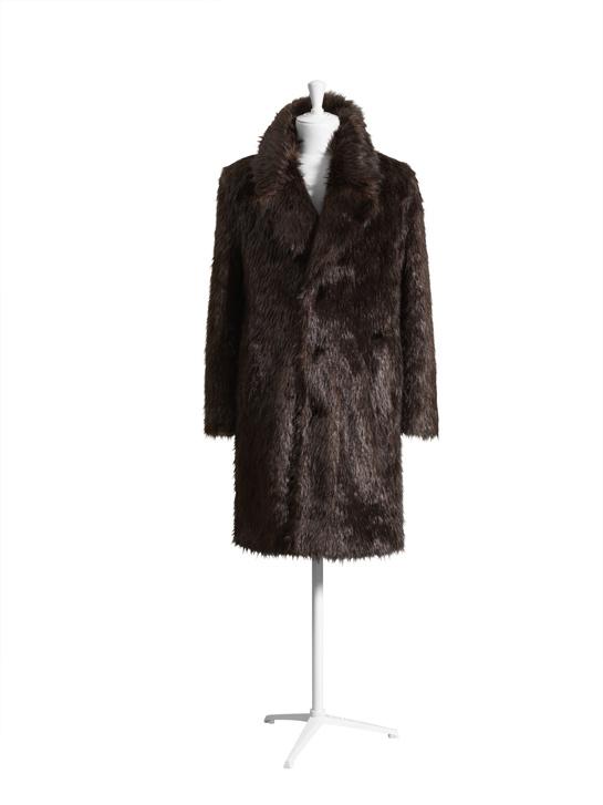 Le manteau homme.