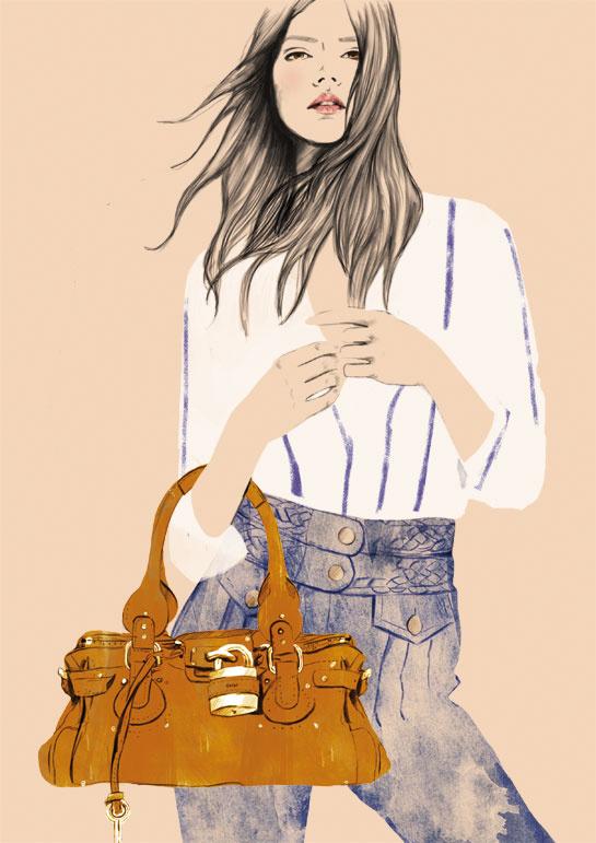Le jean et le sac Paddington.