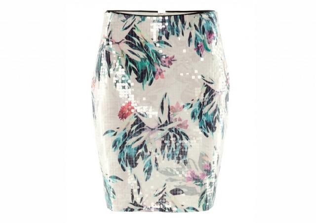 La jupe pour H&M.