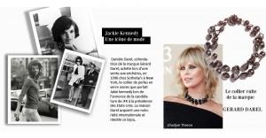 Le célèbre collier de Jackie Kennedy.